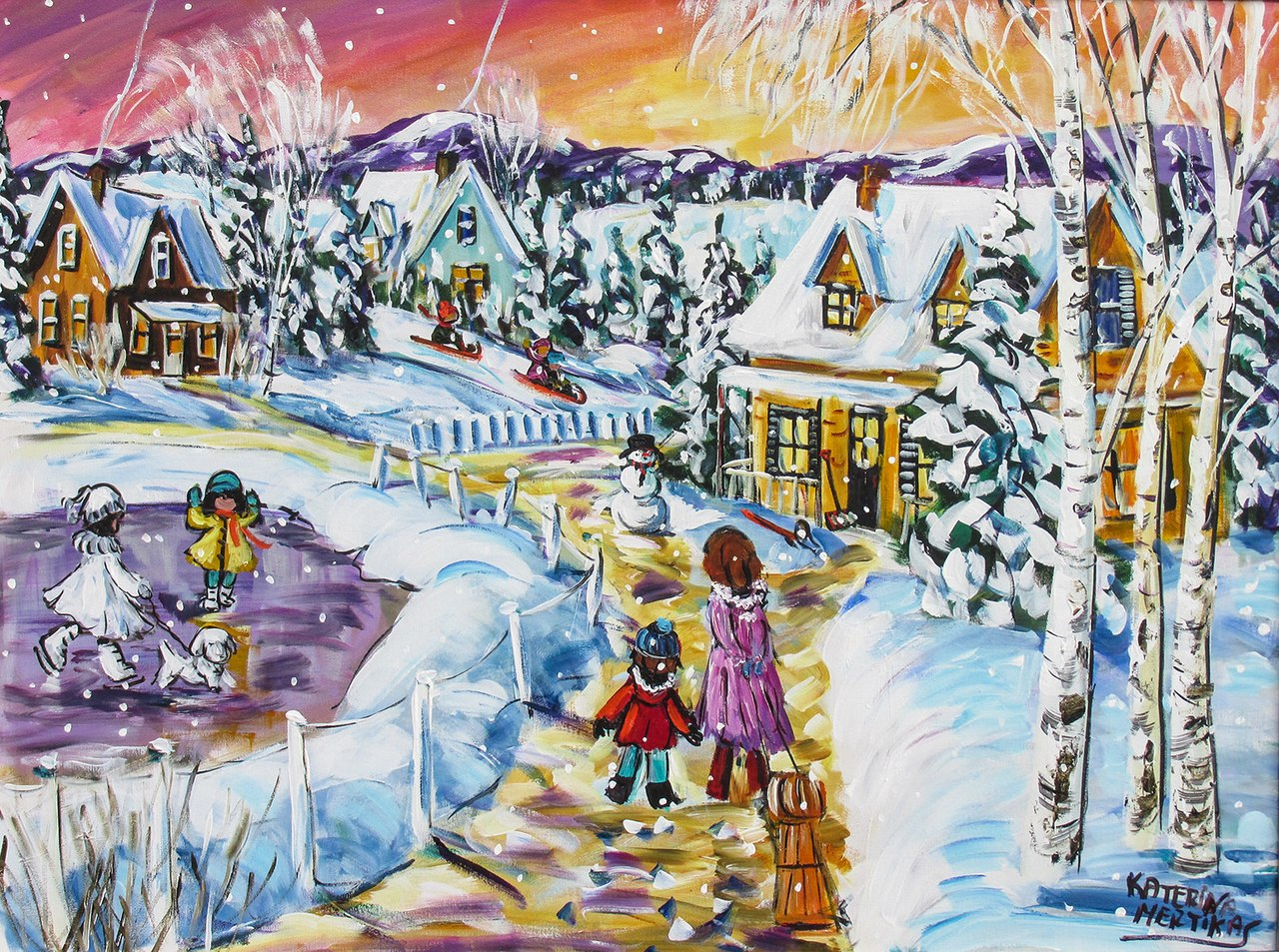 Mertikas: Magic Winter - 750pc Jigsaw Puzzle By Standout Puzzles  			  					NEW