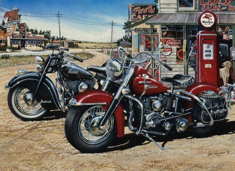Two for the Road - 1000pc Jigsaw Puzzle By Cobble Hill  			  					NEW