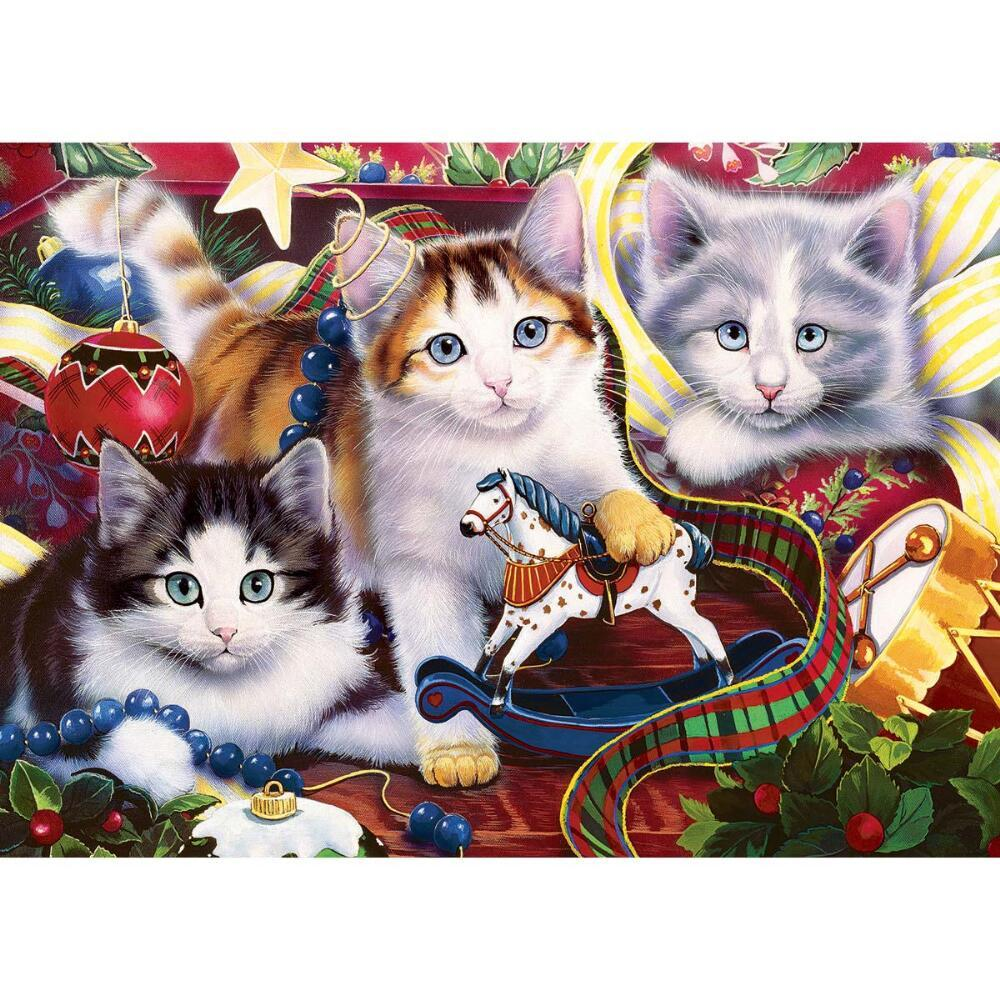 Holiday Mischief - 500pc Jigsaw Puzzle by Masterpieces  			  					NEW