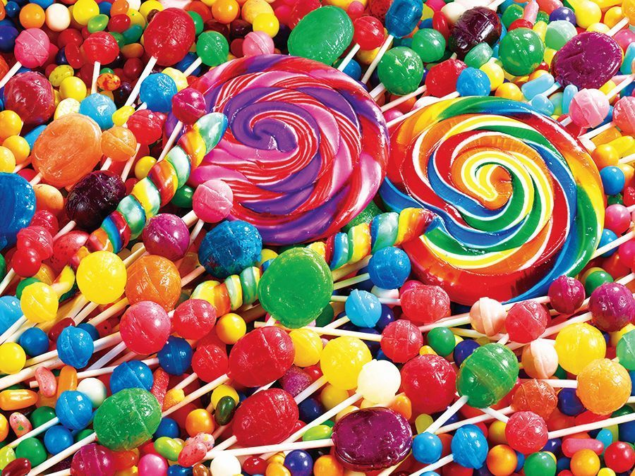 Kodak: Lollipop Swirls - 350pc Jigsaw Puzzle by Lafayette Puzzle Factory  			  					NEW