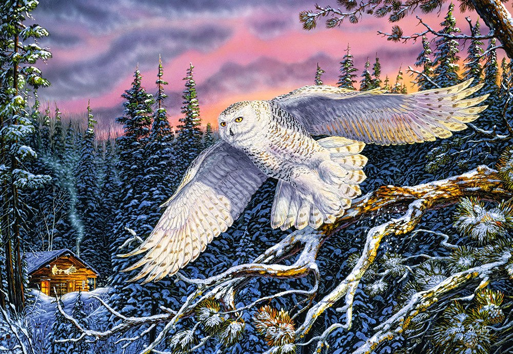 Whisper on the Wind - 1500pc Jigsaw Puzzle By Castorland