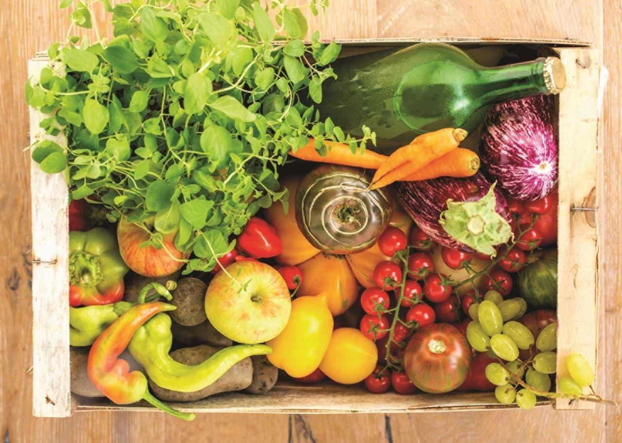 Fruit and Vegetable Box - 500pc Jigsaw Puzzle By Jumbo  			  					NEW