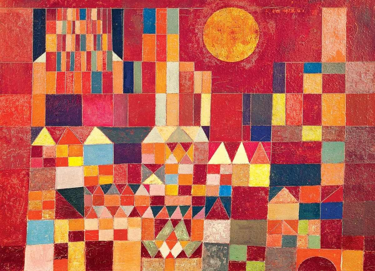 Castle and Sun by Paul Klee - 100pc Jigsaw Puzzle by Eurographics  			  					NEW