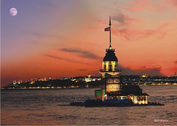 Maiden's Tower II - 1500pc Jigsaw Puzzle by Anatolian