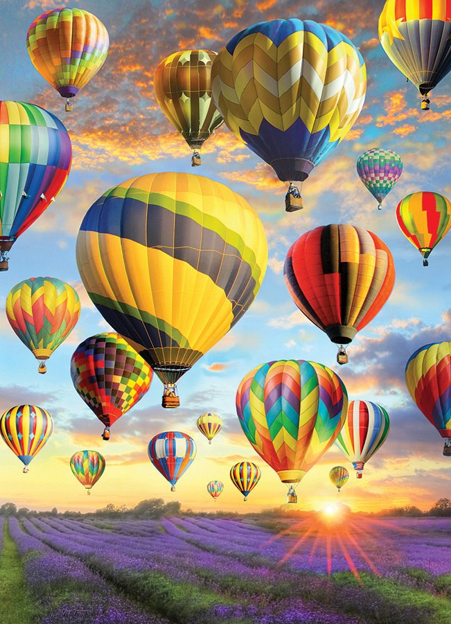 Hot Air Balloons - 1000pc Jigsaw Puzzle by Jack Pine  			  					NEW