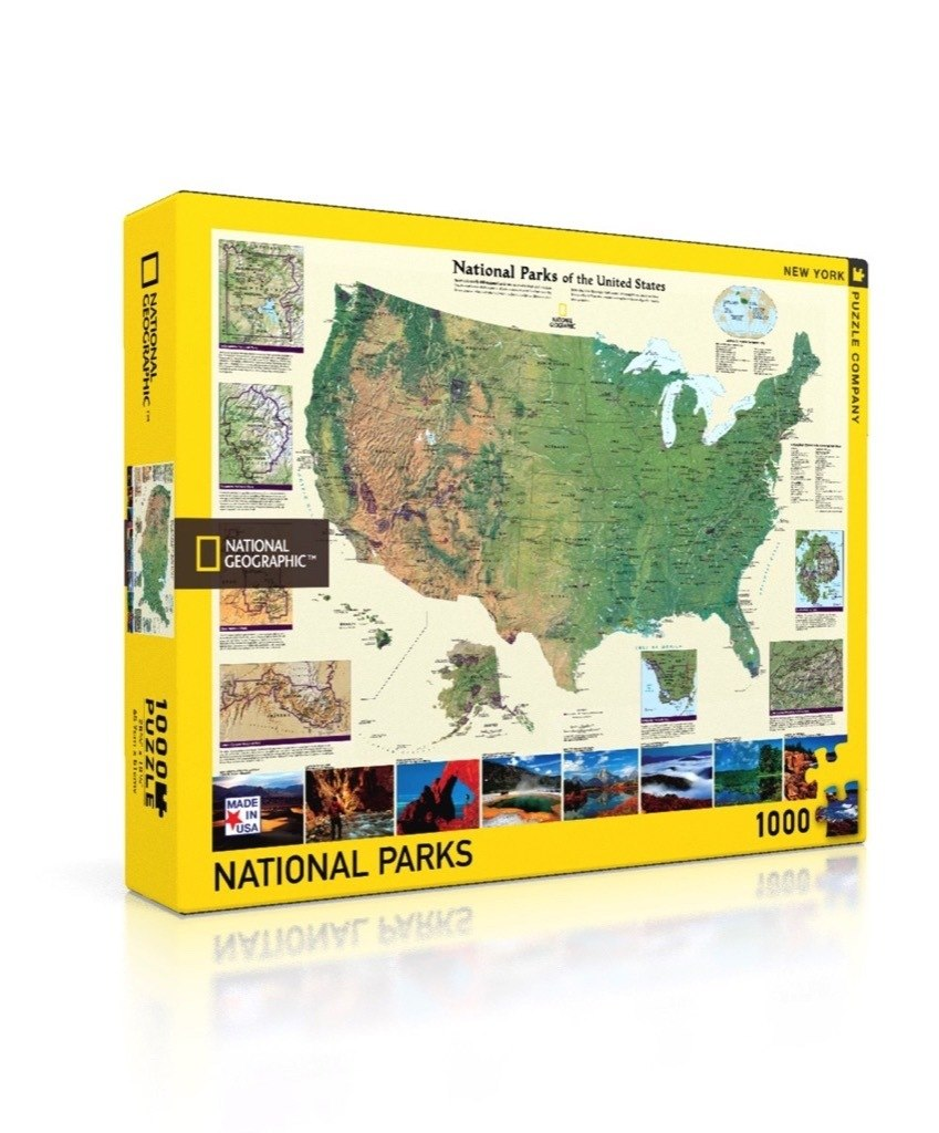 American National Parks - 1000pc Jigsaw Puzzle by New York Puzzle Company  			  					NEW