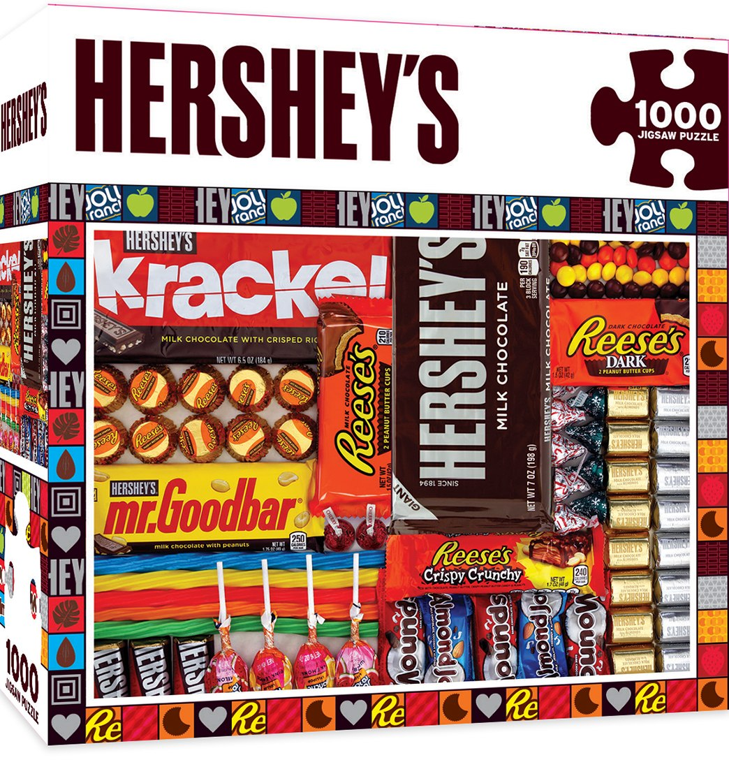Hersheys: Swirl - 1000pc Jigsaw Puzzle By Masterpieces