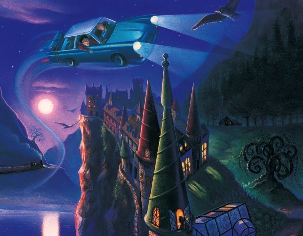 Harry Potter: The Enchanted Car - 100pc Jigsaw Puzzle by New York Puzzle Company