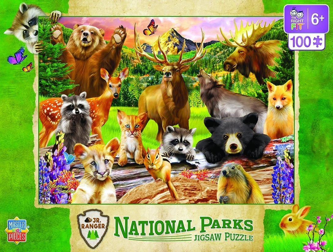 National Parks - 100pc Jigsaw Puzzle by Masterpieces