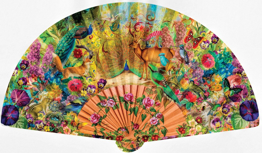 Abundant Garden - 1000pc Shaped Jigsaw Puzzle by SunsOut