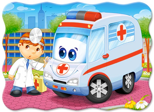 Ambulance Doctor - 30pc Jigsaw Puzzle By Castorland  			  					NEW