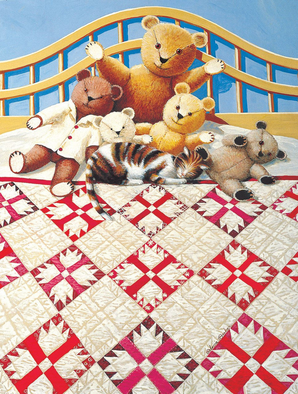 Bear Paw - 500pc Jigsaw Puzzle by SunsOut