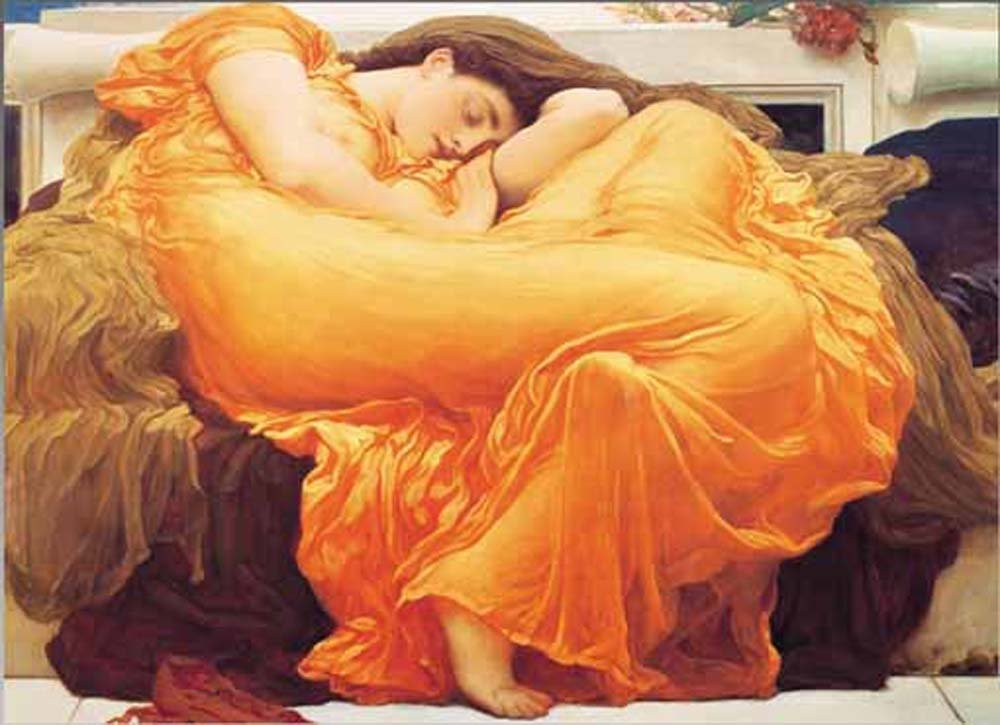 Flaming June - 1000pc Jigsaw Puzzle by Ricordi  			  					NEW