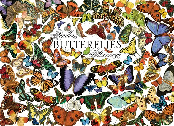 Butterflies - 1000pc Jigsaw Puzzle By Cobble Hill