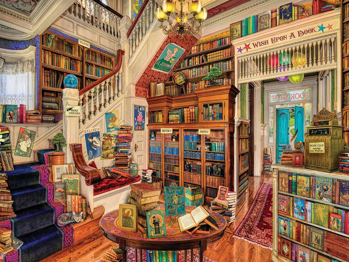Book Heaven - 300pc EZ Grip Jigsaw Puzzle By White Mountain