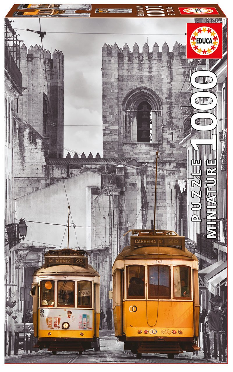 The Alfama District, Lisbon - 1000pc Mini Jigsaw Puzzle By Educa  			  					NEW
