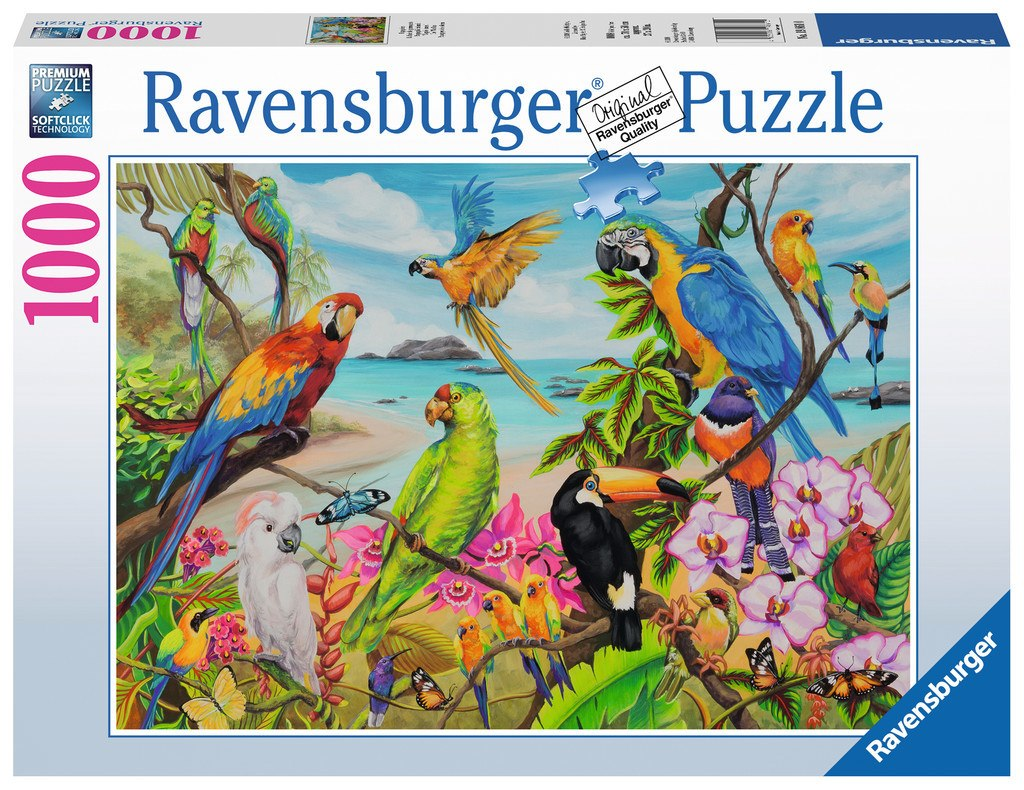 The &quotCoo&quotau - 1000pc Jigsaw Puzzle By Ravensburger  			  					NEW
