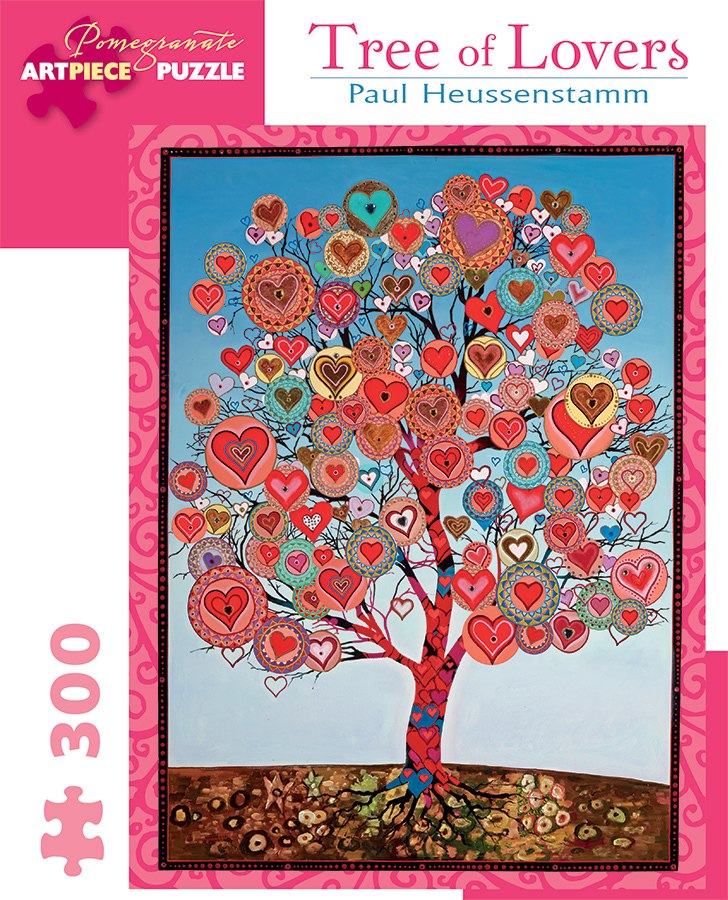 Heussenstamm: Tree of Love - 300pc Jigsaw Puzzle by Pomegranate  			  					NEW