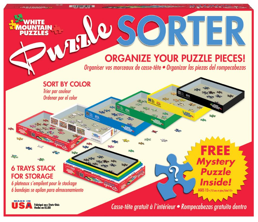 Puzzle Sorter by White Mountain