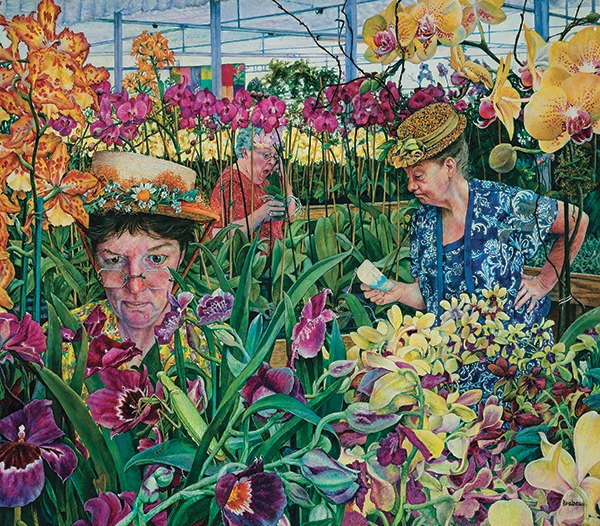 Orchid Society - 300pc Jigsaw Puzzle By Sunsout  			  					NEW - image main