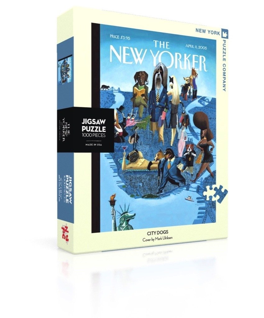 City Dogs - 1000pc Jigsaw Puzzle by New York Puzzle Company  			  					NEW