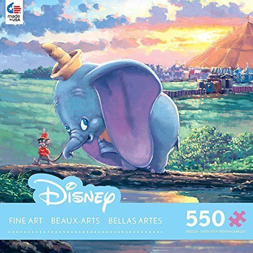James Coleman: Dumbo, Unlikely Friends - 550pc Jigsaw Puzzle by Ceaco