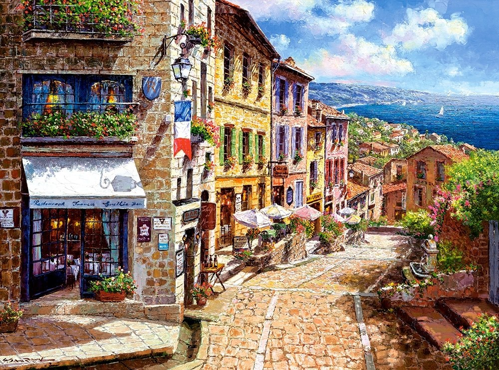Afternoon in Nice - 3000pc Jigsaw Puzzle By Castorland  			  					NEW