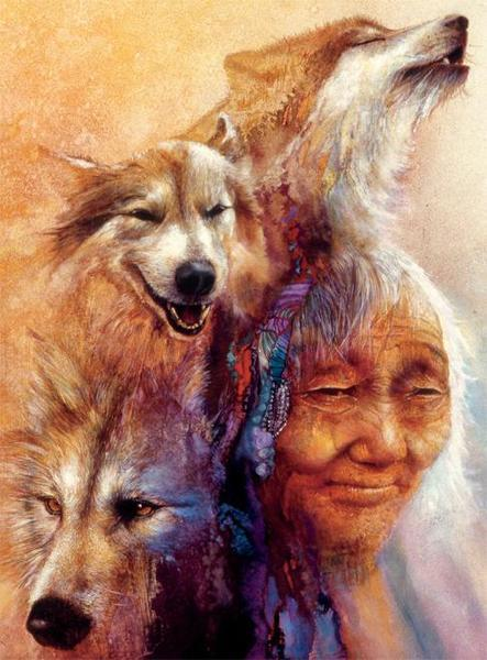 Native Spirit: Medicine Woman - 1000pc Jigsaw Puzzle by Ceaco  			  					NEW