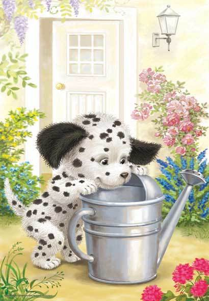 Naughty Dalmation - 260pc Jigsaw Puzzle by Anatolian