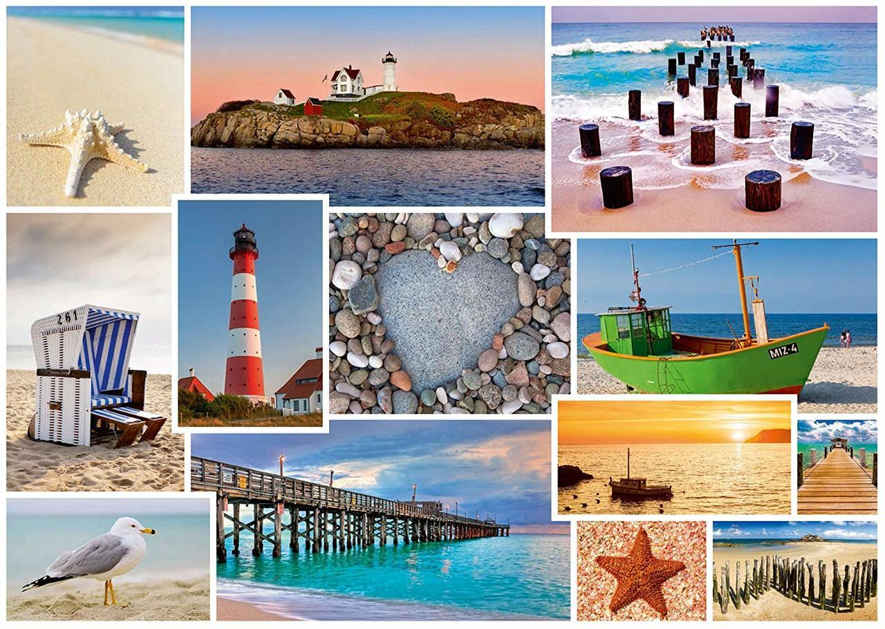 By the Sea - 1000pc Jigsaw Puzzle by Schmidt  			  					NEW