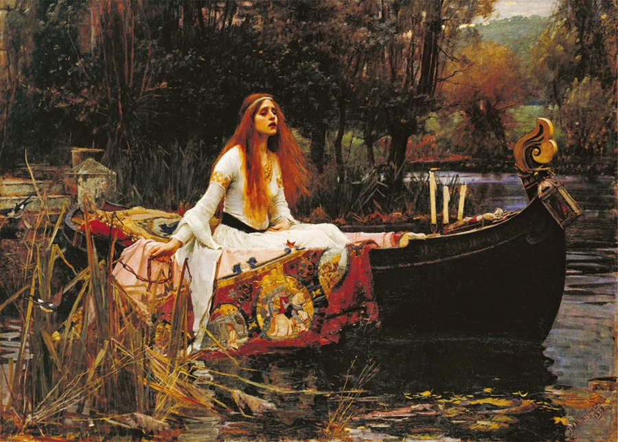 Waterhouse: The Lady of Shalott - 1000pc Jigsaw Puzzle by D-Toys - image main