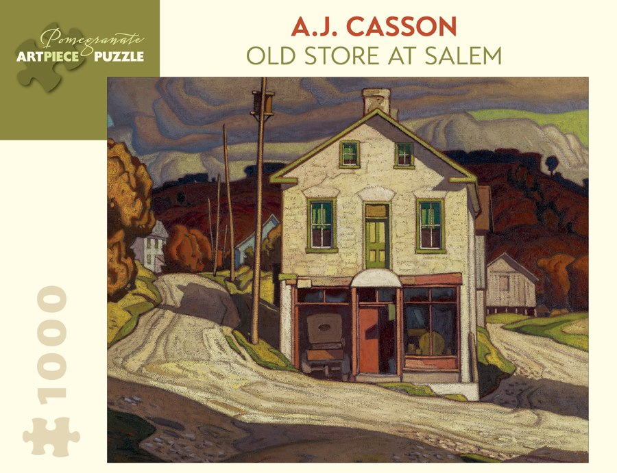 Casson: Old Store at Salem - 1000pc Jigsaw Puzzle by Pomegranate