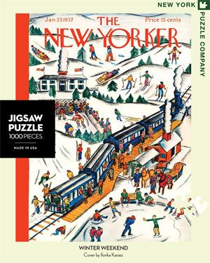 Winter Weekend - 1000pc Jigsaw Puzzle by New York Puzzle Co.
