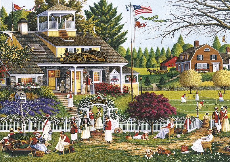Charles Wysocki: Love - 300pc Large Format Jigsaw Puzzle By Buffalo Games  			  					NEW