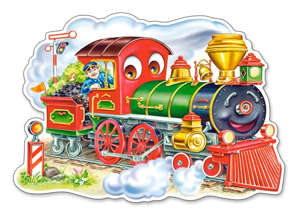 Huff and Puff - 12pc Jigsaw Puzzle By Castorland