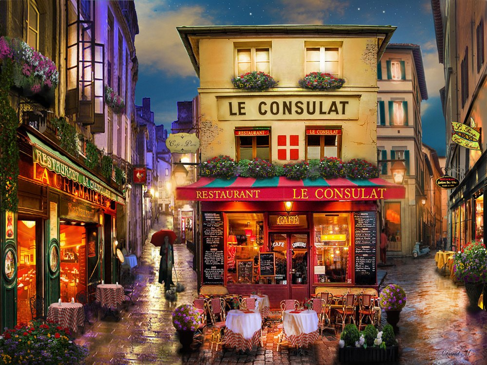Meet Me in Paris - 550pc Jigsaw Puzzle by Vermont Christmas Company