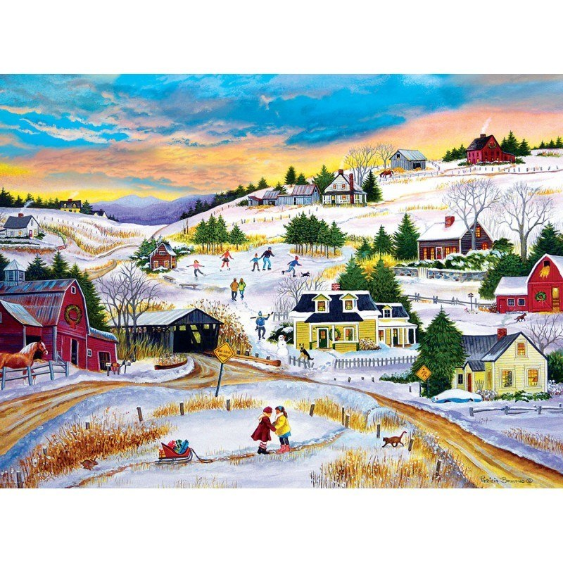 T'is the Season - 1000pc Jigsaw Puzzle by Eurographics  			  					NEW