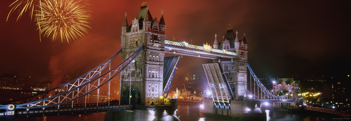 Sights Tower Bridge - 1000pc Panoramic Jigsaw Puzzle By Heye  			  					NEW