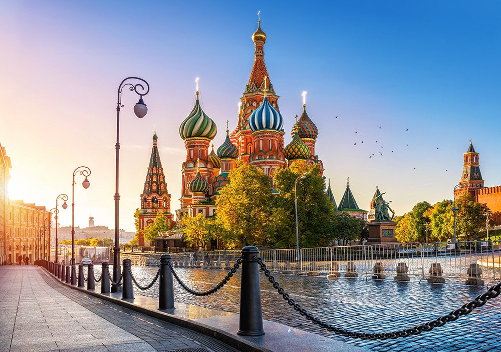 Saint Basil's Cathedral, Moscow - 500pc Jigsaw Puzzle by Castorland  			  					NEW
