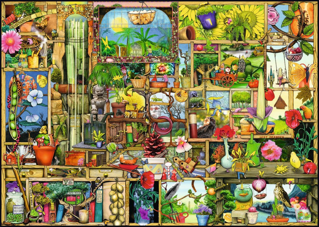 The Gardener's Cupboard - 1000pc Jigsaw Puzzle by Ravensburger