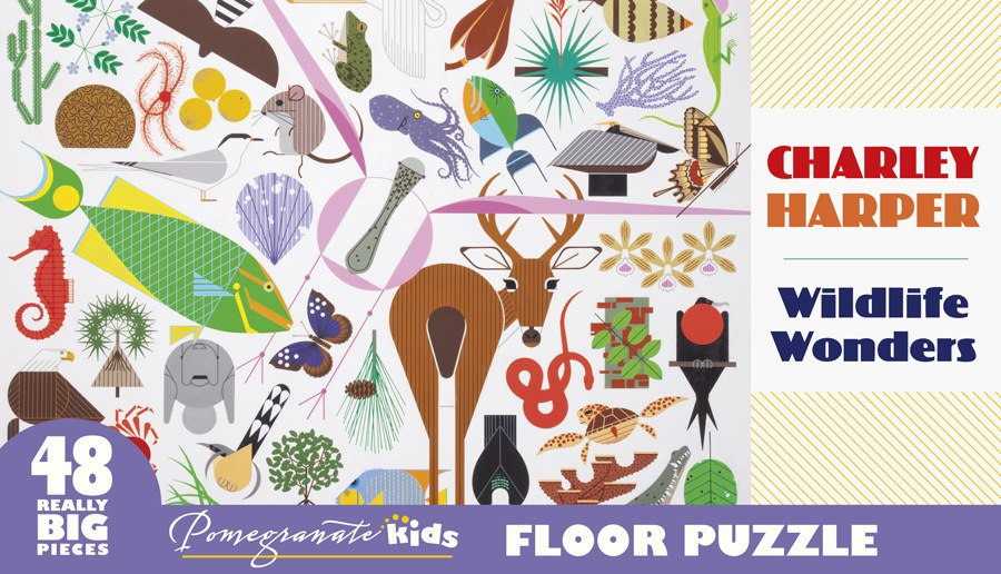 Harper: Wildlife Wonders - 48pc Floor by Pomegranate  			  					NEW