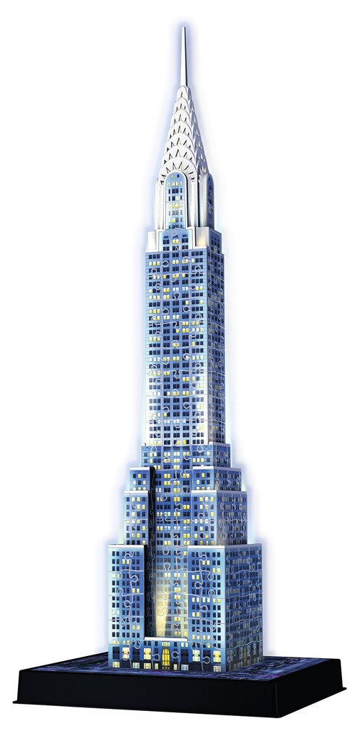 Chrysler Building: Night Edition - 216pc 3D Puzzle by Ravensburger