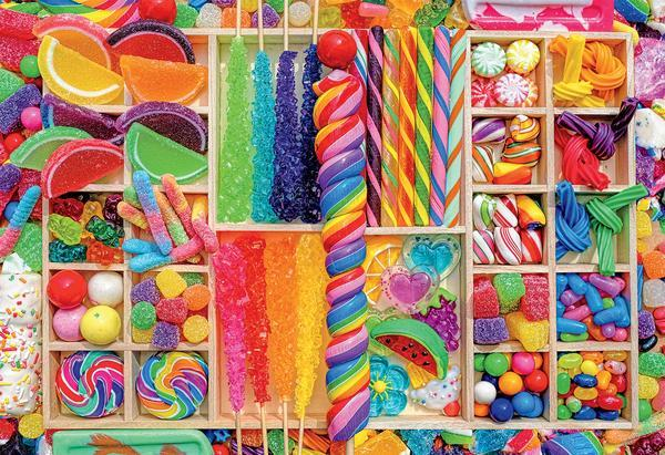 Sweet Selections - 2000pc Jigsaw Puzzle by Ceaco  			  					NEW