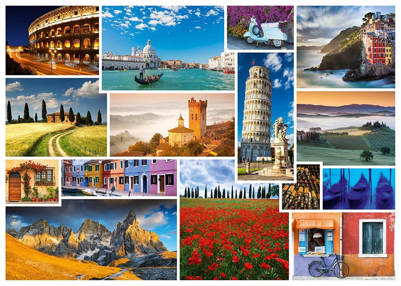 Take a Trip to Italy - 1000pc Jigsaw Puzzle by Schmidt  			  					NEW