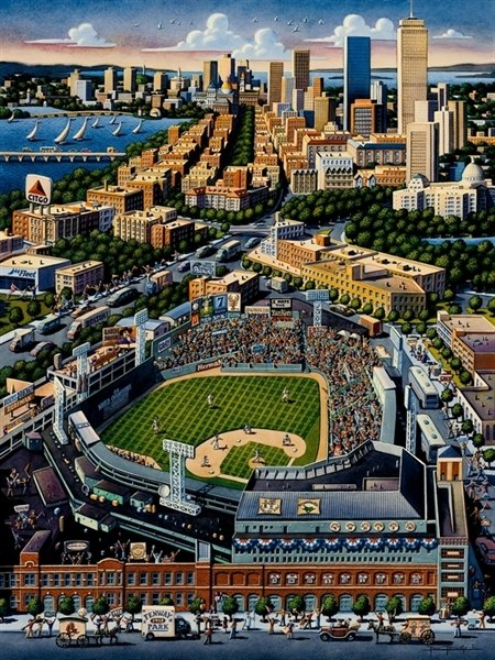 Fenway Park - 1000pc Jigsaw Puzzle by Dowdle