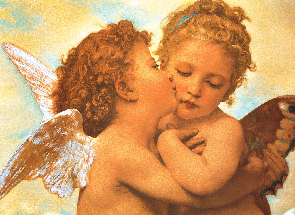 Putto's Kiss - 500pc Jigsaw Puzzle by Tomax