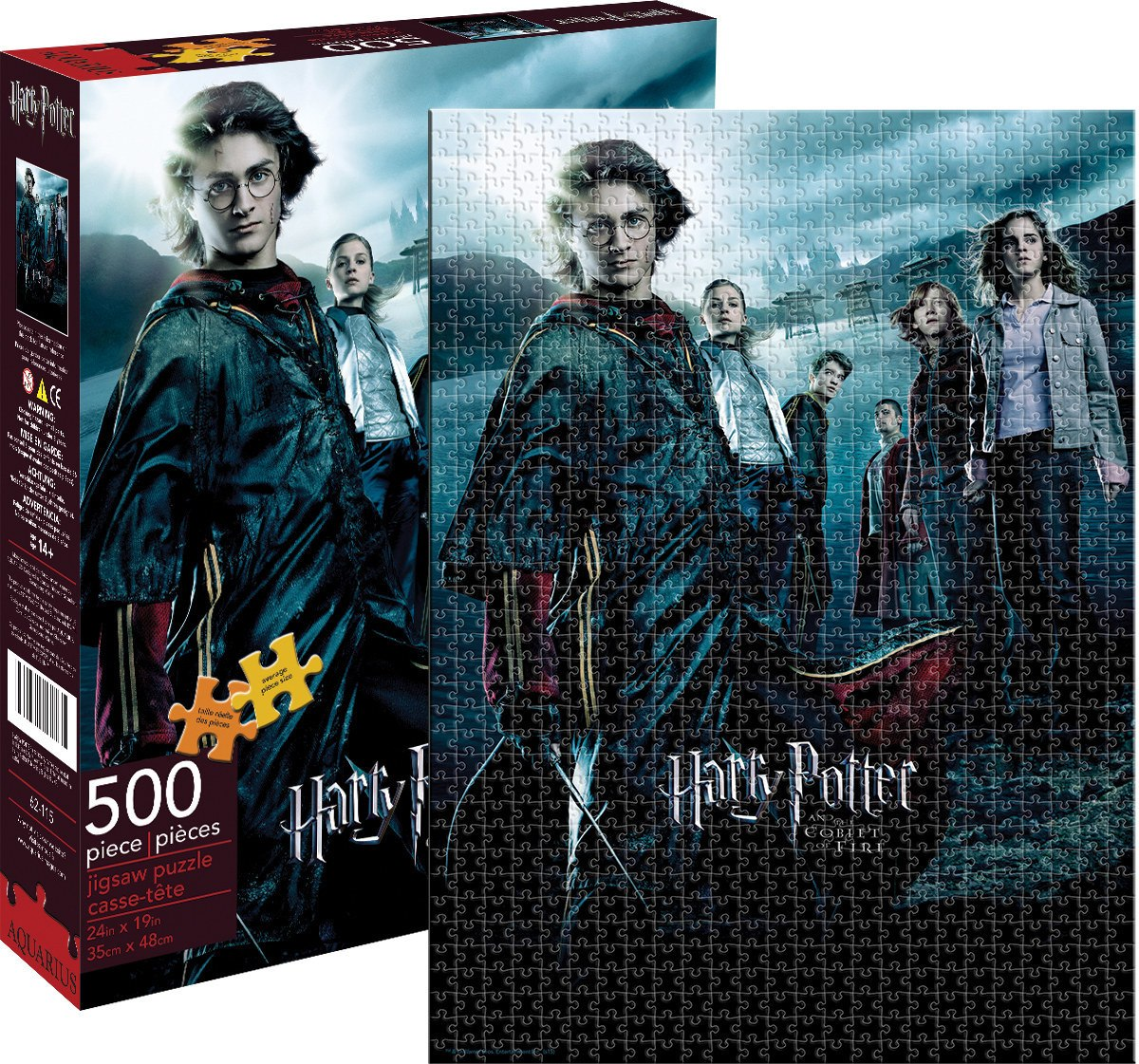 Harry Potter: Goblet of Fire - 500pc Jigsaw Puzzle by Aquarius  			  					NEW