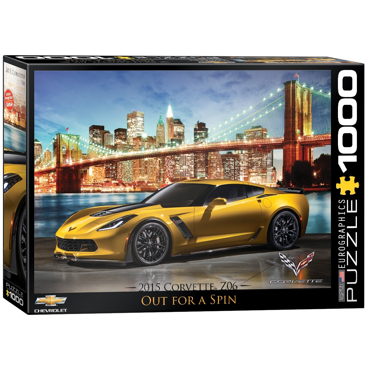 2015 Chevrolet Corvette Z06: Out for a Spin - 1000pc Jigsaw Puzzle by Eurographics