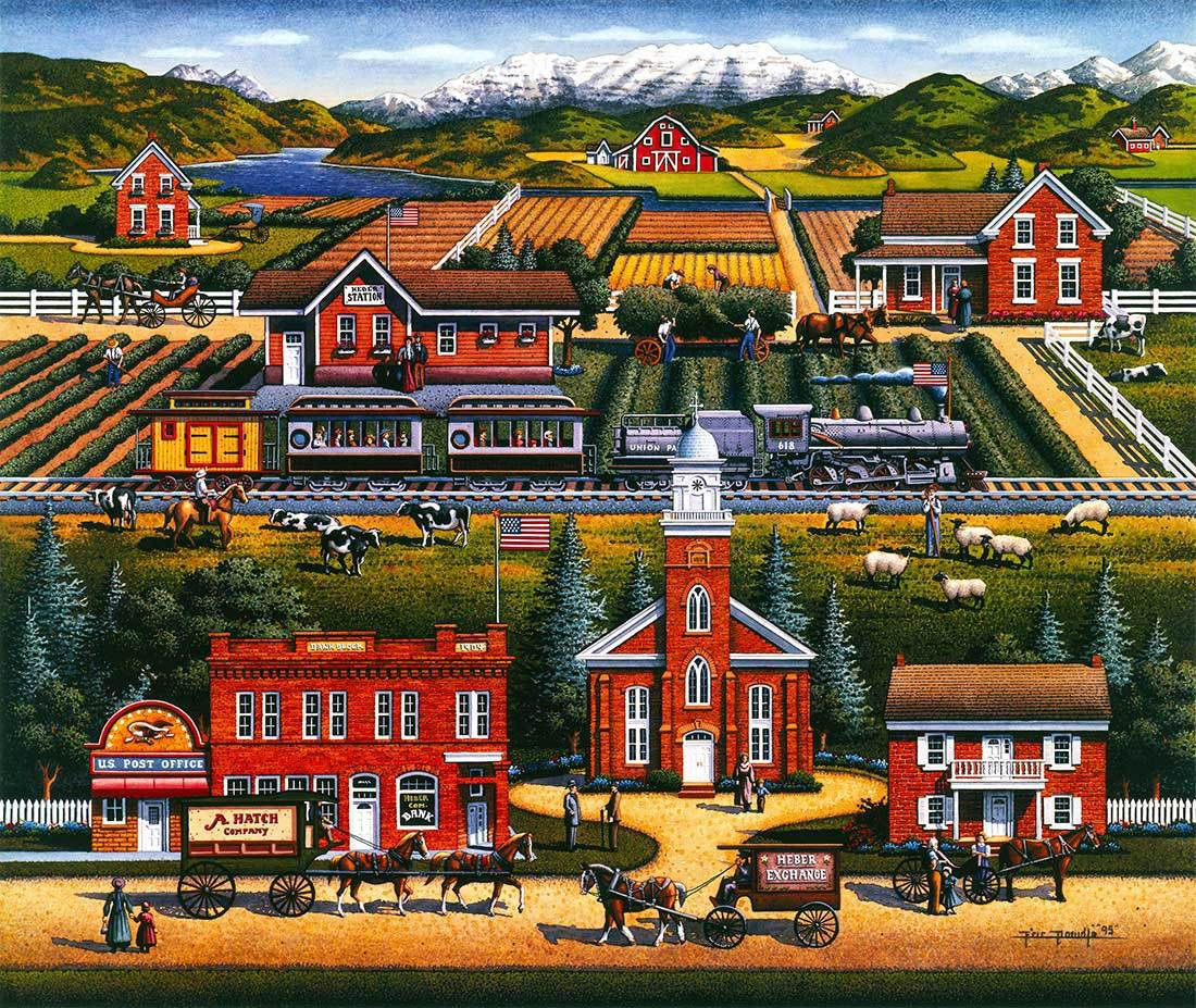 Heber Valley - 500pc Jigsaw Puzzle by Dowdle  			  					NEW