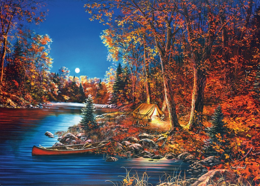 Still of the Night - 500pc Large Format Jigsaw Puzzle By Ravensburger